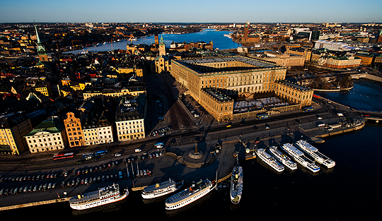 City of Stockholm. Photo: Mattias Klum